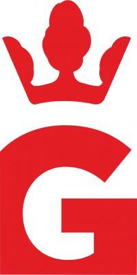logo 5 z pełną koroną